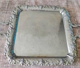 Bandeja banho de prata