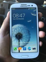 Samsung S3 16g (do grande) 1 chip e entrada de cartao
