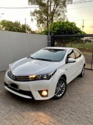 Toyota Corolla Xei 2.0 flex 2016 Único dono Impecável