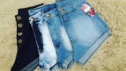Short jeans no atacado