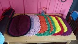 Lindos Tapetes de crochê   pronta entrega