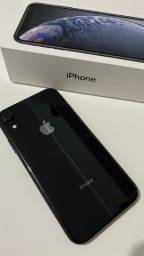IPhone Xr, preto 64gb