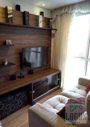 Apartamento com 3 dormitórios à venda, 63 m² por R$ 335.000,00 - Piraporinha - Diadema/SP