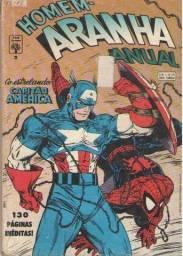 Revista em Quadrinhos - Homem-Aranha Anual - Ed. 02 - 1992 - 132pg - Marvel-Abril
