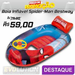 Boia Inflável Redonda - Ultimate Spider-Man - Bestway