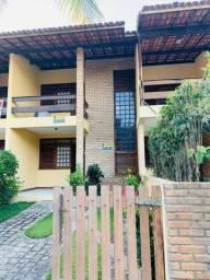 Alugo casa mobiliada duplex na Barra de São Miguel, com 02 quartos, próximo à praia