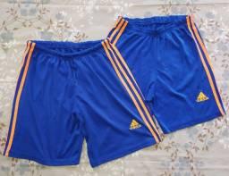 Kit 3 Shorts de Futebol - Kappa/Adidas