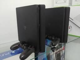 PlayStation 4 Ps4 Slim 500GB Preto / Promoção / Troco / Parcelo