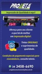 Fachada - banners - adesivos - impressão digital