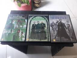DVDs MATRIX TRILOGIA (original)