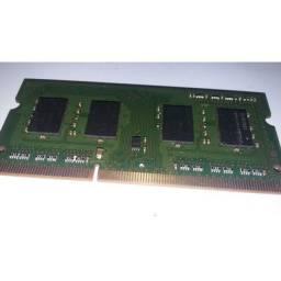 Placa de memória RAM notebook 2gb ddr3
