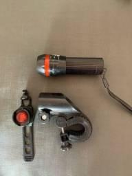 Kit lanterna e sinalizador luminoso BIKE