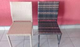 Cadeira Residencial P Mesa de Jantar em Fibra - Varias Cores