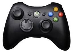 Controle Xbox 360 sem fio usado (sem receptor)