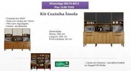 Promoção na loja! Chame agora e receba amanhã!! 98574//8672 - Kit Cozinha Ímola
