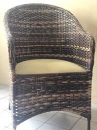 Cadeira de Vime Linda