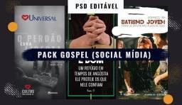 Pacote de Artes EDITÁVEIS para Redes Sociais