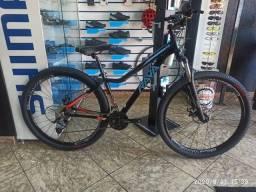 Bicicleta aro 29 Rava Nins T/15,5 24V X-Time Promoção de Black Friday