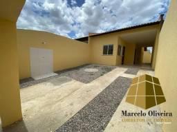 Casa plana nova com 2 quartos e documentação inclusa em Pacatuba/Maracanaú