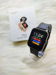 Relógio Inteligente P22 Smartwatch Android Ios Global<br>