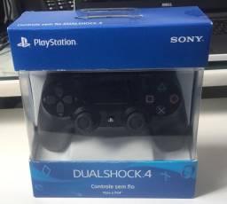 Controle PS4 Dualshock Novo na Caixa com nota de compra