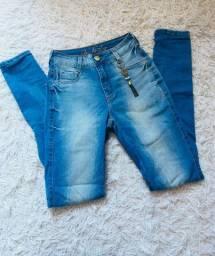 Calça jeans com strech
