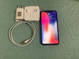 iPhone X 64g space gray com nota fiscal