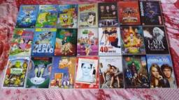 DVDs Originais.