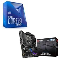 Kit i9 10900 + mpg z490 gaming PLUS