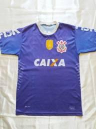 Camiseta Nike Corinthians Azul Infantil