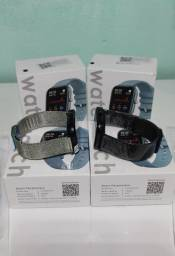SmartWatch P8 pulseira milanesa+pulseira silicone