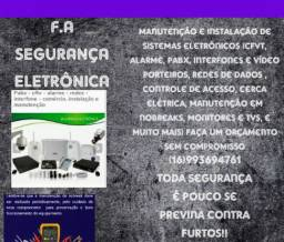 F.A segurança Eletrônica / telecom