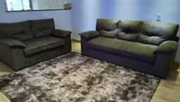 Vendo sofá 2 e 3 lugares seminovo