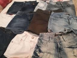 Lote de Shorts e bermudas