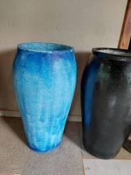 Vende se vasos vietnamitas manuais de cimento 55cm
