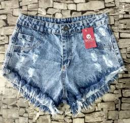 SHORTS JEANS NO VAREJO OU ATACADO