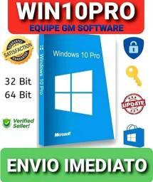 Windows 10 Pro Licença Original Ativa Online+Brindes exclusivos