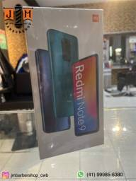 Celular Xiaomi Redmi Note 9 128gb / 4RAN original novo lacrado somos loja física