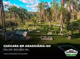Título do anúncio: Chácara 7000 metros Aragoiânia