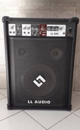 Título do anúncio: Caixa de som amplificada ll audio ll600 (5 meses de uso)