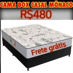 CAMA BOX CASAL MÔNACO