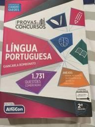 Livro lingua portuguesa alfacon em Jaboatão dos Guararapes