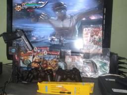 Playstation 2 completo Semin novo