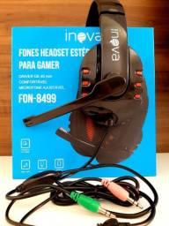 Headset da marca inova