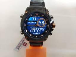 Título do anúncio: Relógio Masculino Naviforce 9163 Dourado e Preto