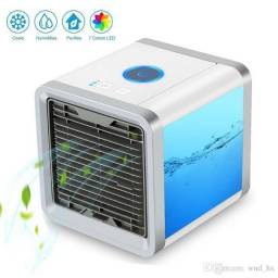 Mini Ar Condicionado Portatil Ventilador P /escritorio Casa