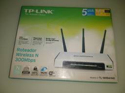 Roteador TpLink  300mbps  3 antenas