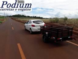 Título do anúncio: Carreta Fazendinha 2,00 por 1,10 Nova - Podium Carretas