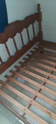Título do anúncio: Cama de casal madeira maciça