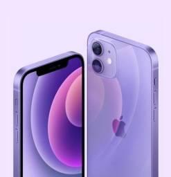 iPhone 12 64gb Purple lilás rosa temo pro e max 128 256 loja física